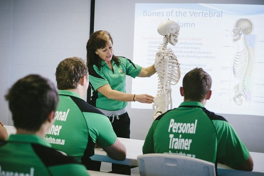Cert IV in Fitness Sandie Teaching the Skeletal System