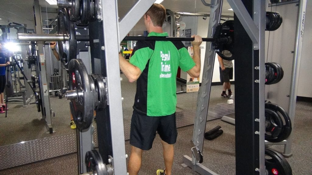 smith machine back squat